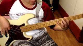 macgyver opening theme bass cover