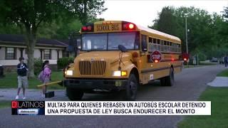 CUIDADO! No parar cuando hay un Bus Escolar puede salir muy caro