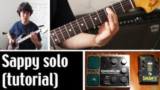 How To Play Sappy (solo tutorial) by Nirvana