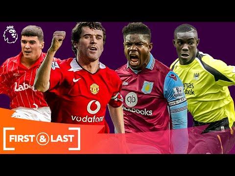 Premier League Pundits' First & Last Goals   Roy Keane, Micah Richards & More!