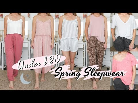 Forever 21 Sleepwear Haul Under $20 | Missy Sue