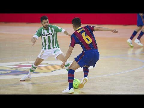 Barça - Real Betis Futsal Jornada 31 Temp 20 21