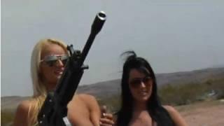 Playboy TV's BADASS Babes Naked with Big Guns