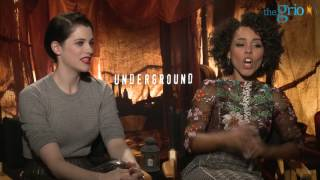 """Underground"" stars Jessica De Gouw and Amirah Vann Talk Playing Powerful Women"