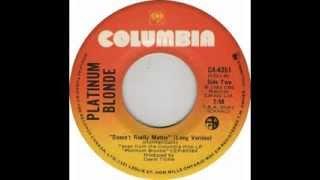 Platinum Blonde - Doesn't Really Matter (1983)
