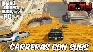 CORRIENDO CON LA PIPOL! GTA V en Español - GOTH