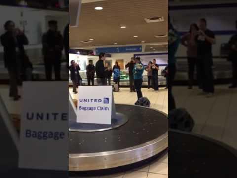 Unique Proposal at Akron-Canton Airport