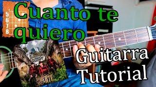 Cuanto te quiero - Los Plebes del Rancho - Guitarra Acordes Tutorial