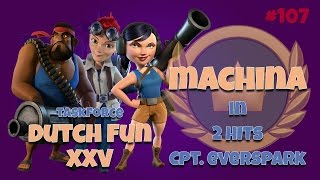 Machina in 2 hits || Hero Cpt. Everspark with UR || Operation Attacks || Boom Beach || Dutch Fun