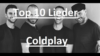 TOP 10 LIEDER ►COLDPLAY [FullHD]