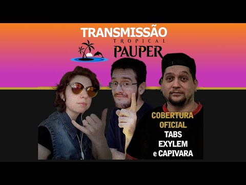 Tropical Pauper - Narração ao vivo - 15-08-2020