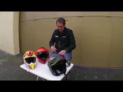 Motos x 1000: Soportes casco Sena Prism