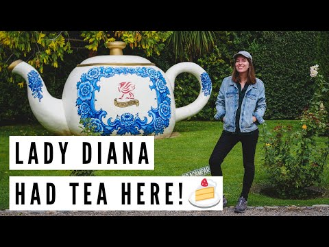 This is the WELSH TEA HOUSE that PRINCESS DIANA visited in Gaiman, Chubut, Argentina