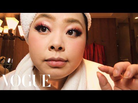 Naomi Watanabe's Guide to Glitter Eyes and Bold Lips | Beauty Secrets | Vogue