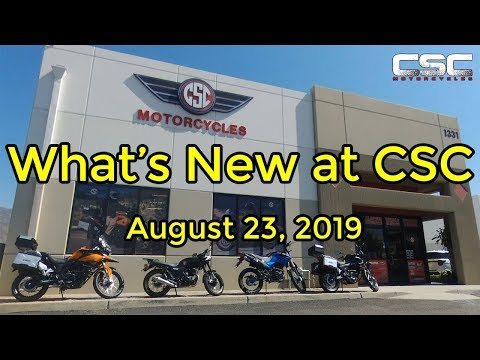 What's New at CSC August 23, 2019