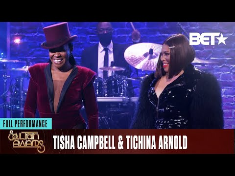 Tisha Campbell & Tichina Arnold Celebrate Black Girl Magic To Open The Show! | Soul Train Awards 20