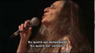 Salmo (1ª Parte) - DVD Carta de Amor - Maria Bethânia