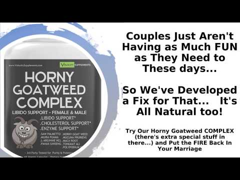 Horny Goat Weed Libdo Supplement for Women and Men