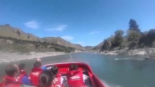 Jet boat at Hanmer Springs
