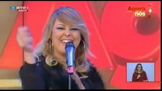 Cantora MICAELA Seducion no Agora nós da RTP Contacto para Feiras, Festas e Romarias
