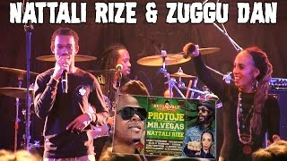 Nattali Rize feat. Zuggu Dan - Rebel Love in Hamburg, Germany @ Reggaeville Easter Special 2017