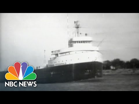 From The Archives, 1975: Edmund Fitzgerald Sinks In Lake Superior | NBC Nightly News