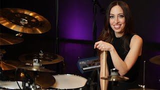 RUSH - TOM SAWYER - DRUM COVER BY MEYTAL COHEN