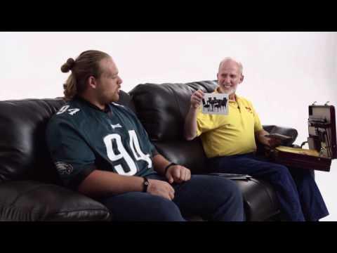 Naming Furniture with Philadelphia Eagles DT Beau Allen | Bob's Discount Furniture