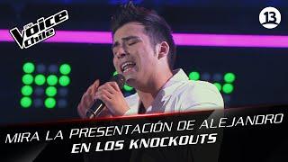 The Voice Chile | Alejandro Zapata - Ahora quién