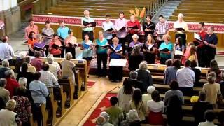 Székely himnusz - A Festival Choir fellépése Kolozsváron - 2013.07.16.