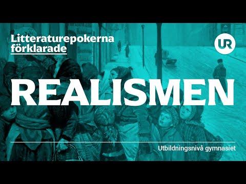 Litteraturepoken realismen förklarad   SVENSKA   Gymnasienivå