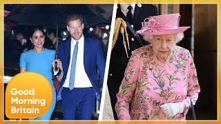 Reports The Queen Could Break Traditional Royal Silence Over Harry & Meghan 'Row' Spark Debate | GMB