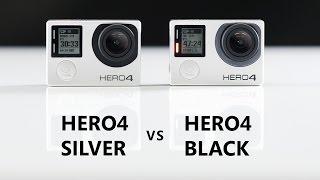 GoPro HERO4 Silver vs. HERO4 Black Comparison and Review