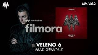 VELENO 6-MADMAN (ft.GEMITAIZ)-Cover