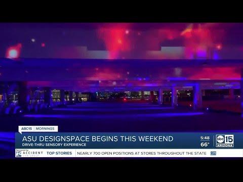 ASU DesignSpace: New drive-thru art exhibit opening inside parking structure