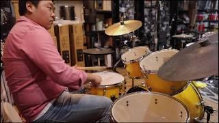 """[야마하 드럼]YAMAHA New Entry Acoustic Drum Set """"RYDEEN"""" 라이딘 Sound Test _비트맨beatman"""
