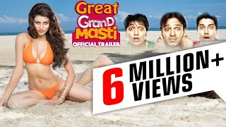 Great Grand Masti Hindi Movie Promotion Event - Urvashi Rautela - Full Promotion video width=