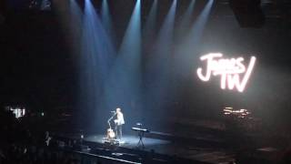 James TW - Sanctuary - Live - Manchester Arena - 28th April 2017