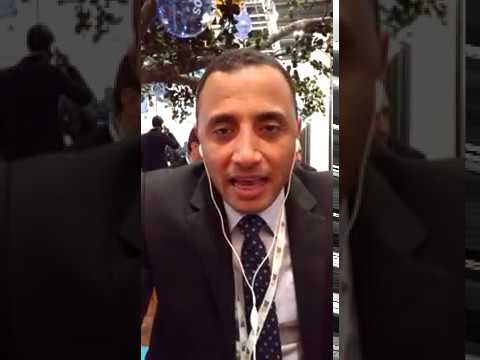 WTM 2016: Ahmad from Al Liwan Suites Hotel, Doha at eRevMax Stand