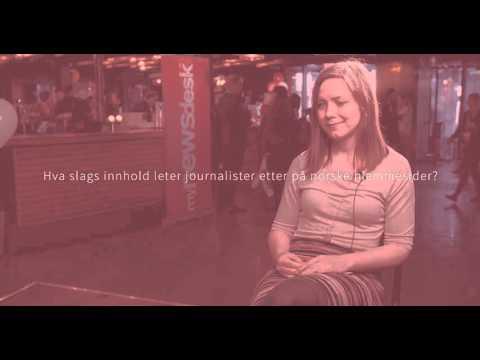 Intervju med Ida Aalen på Mynewsday 2016