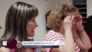 Sara Mior. Presentación de los talleres: Teatro Terapéutico y Autoestima y Crecimiento Personal