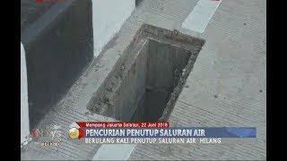 LAGI!! Sembilan Besi Penutup Saluran Air di Underpass Mampang Kembali Hilang - BIP 23/06