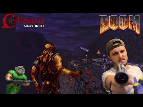 CASTLEVANIA EN DOOM?!! || Doom Mod: Castlevania Simon's Destiny