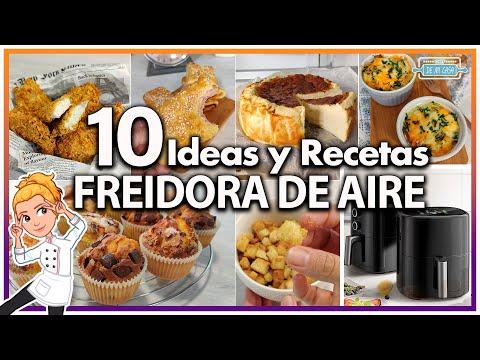 ? 10 IDEAS y RECETAS INCREIBLES para tu FREIDORA de AIRE  ? ¡SORPRENDENTES! ?