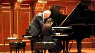 Alfred Brendel, Masterclass at New England Conservatory