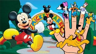Mickey Mouse and Friends Finger Family
