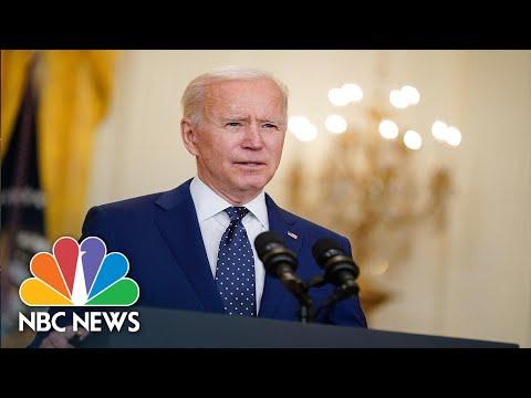 President Biden Calls Repeated Gun Related Tragedies 'A National Embarrassment' | NBC Nightly News