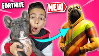 FORTNITE Gave My DOG His OWN SKIN!!! | Royalty Gaming