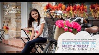 Firma de autógrafos con Sophie Giraldo en Cali