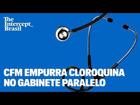 Conselheiros do CFM defendem cloroquina no gabinete paralelo